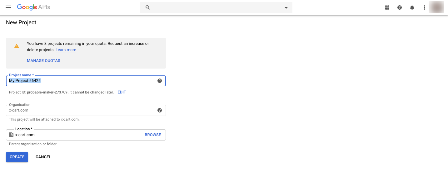 google-new-project-page.png